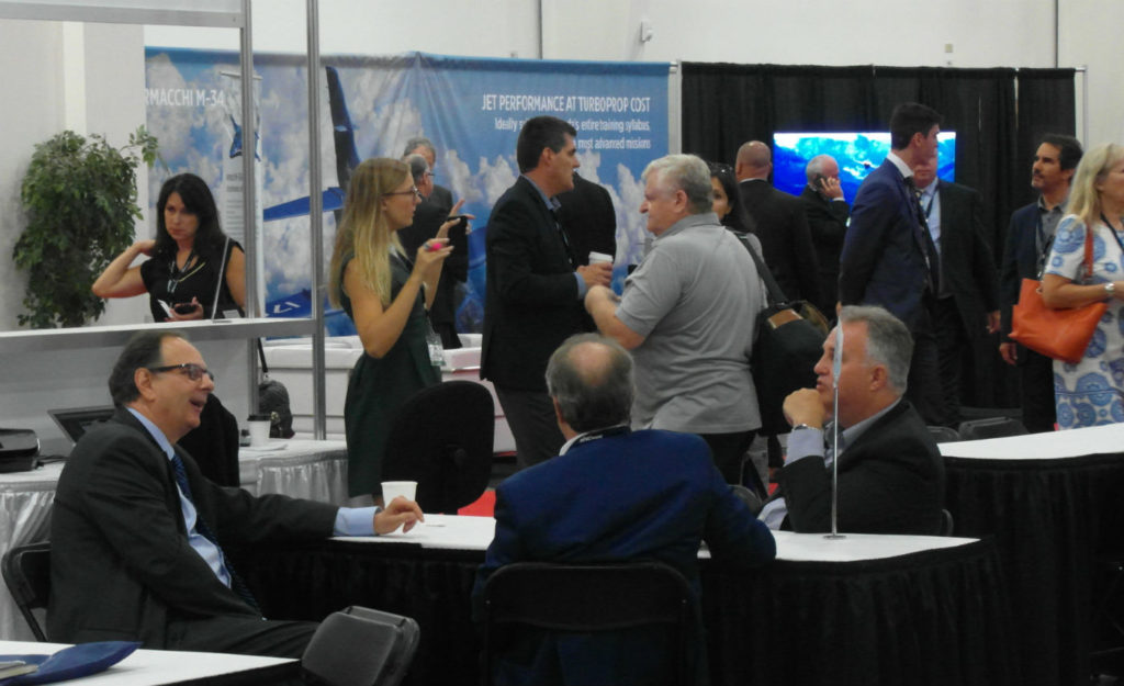 Both associations scheduled a full slate of educational sessions, prominent speakers and recreational opportunities. A wide variety of aerospace and business aviation-related companies filled 110 tradeshow booths, showcasing the latest products and services to attendees.