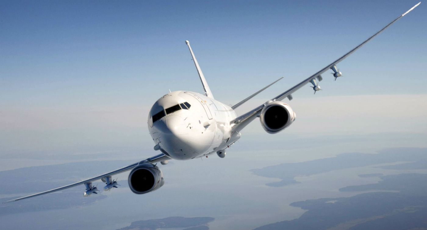 Marshall designs and manufactures the auxiliary fuel tank system for the P-8 maritime patrol aircraft, which is a military derivative of the Boeing 737-800 platform and to date has delivered more than 500 tank sets to support the Boeing P-8 program. Boeing Photo