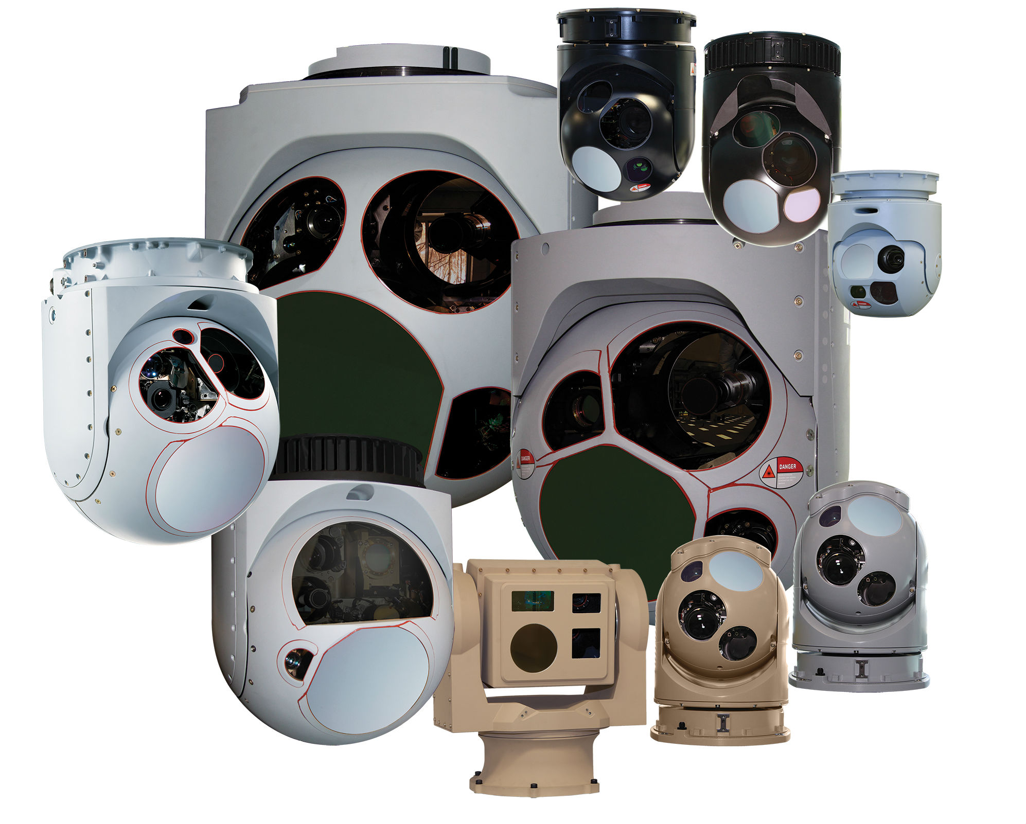 L3 WESCAM'S MX-Series of electro-optical/infrared systems.