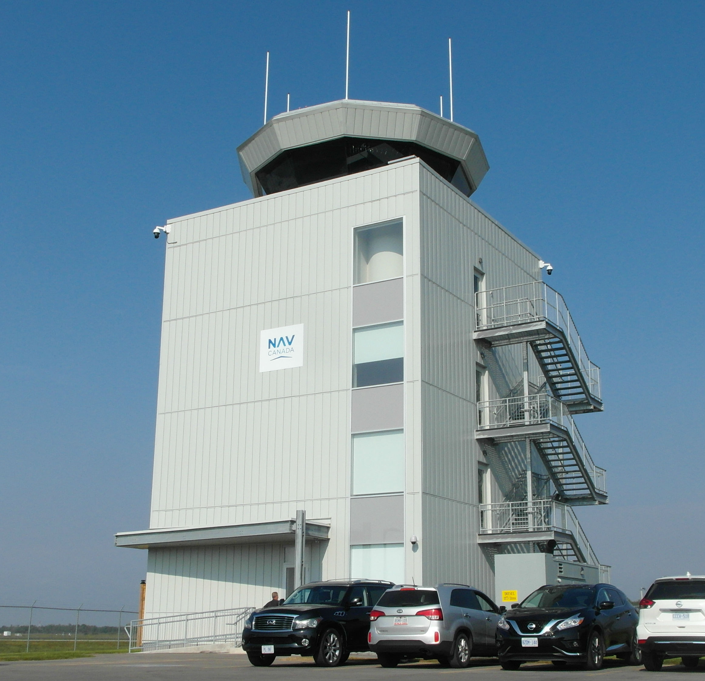 New Tower at YKF airport.