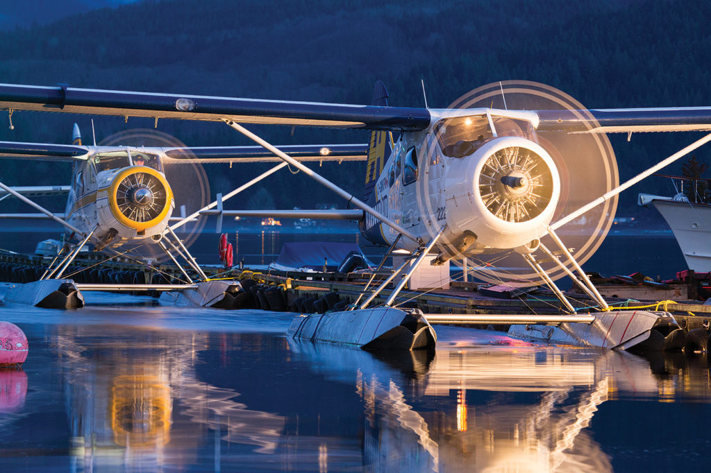Vancouver-based Harbour Air is creating mentorship programs designed to shepherd junior pilots out of school and into a defined career path with the world's largest seaplane airline. Jason Pineau Photo