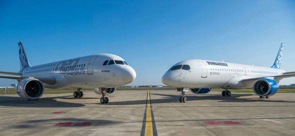 Through the continuation of the partnership between Airbus and Bombardier, Airbus has committed to maintaining Mirabel, Que., as the main industrial site for the CSeries program. Airbus Photo