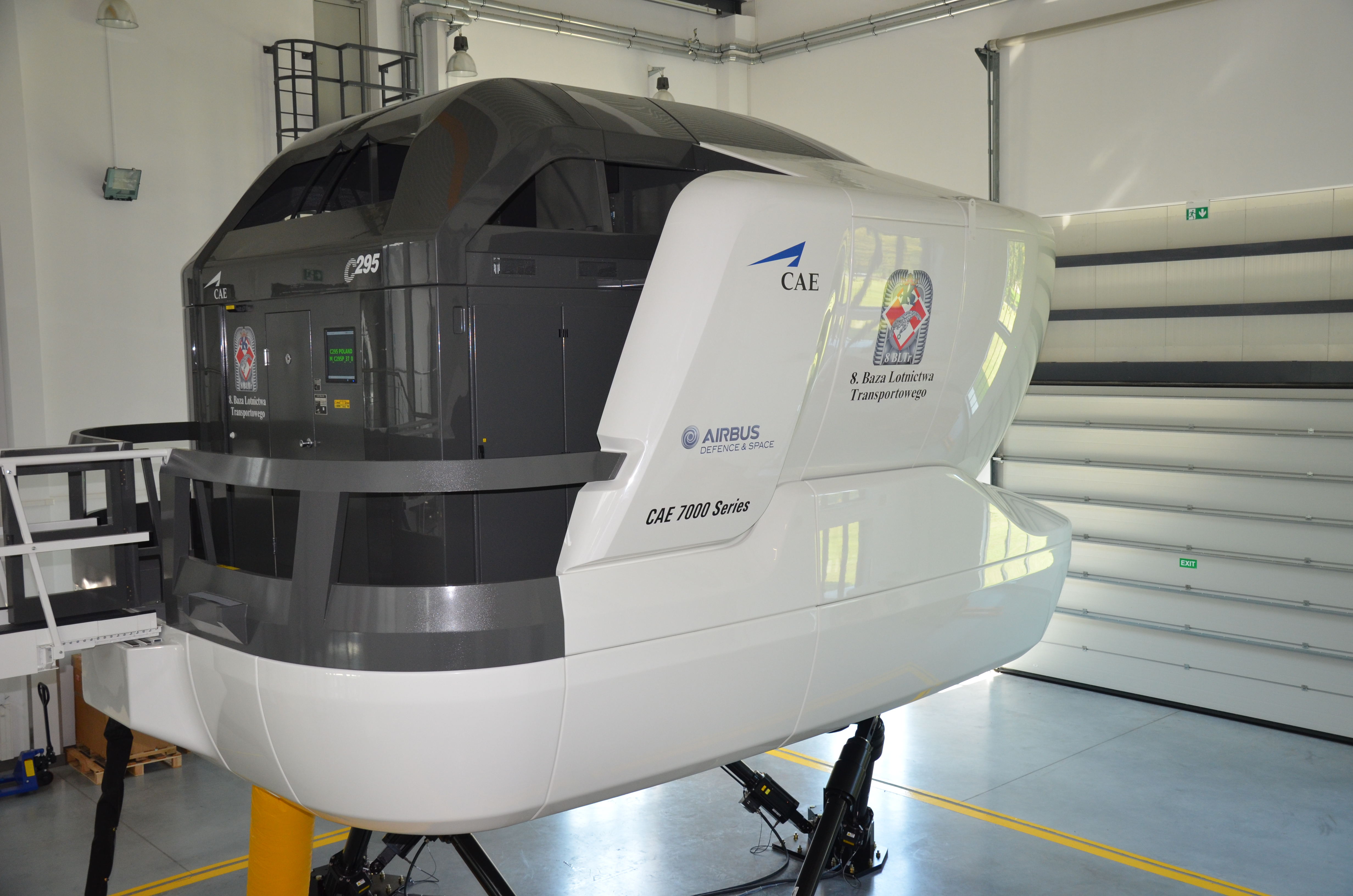 cae built c295 full flight simulator enters service for. Black Bedroom Furniture Sets. Home Design Ideas