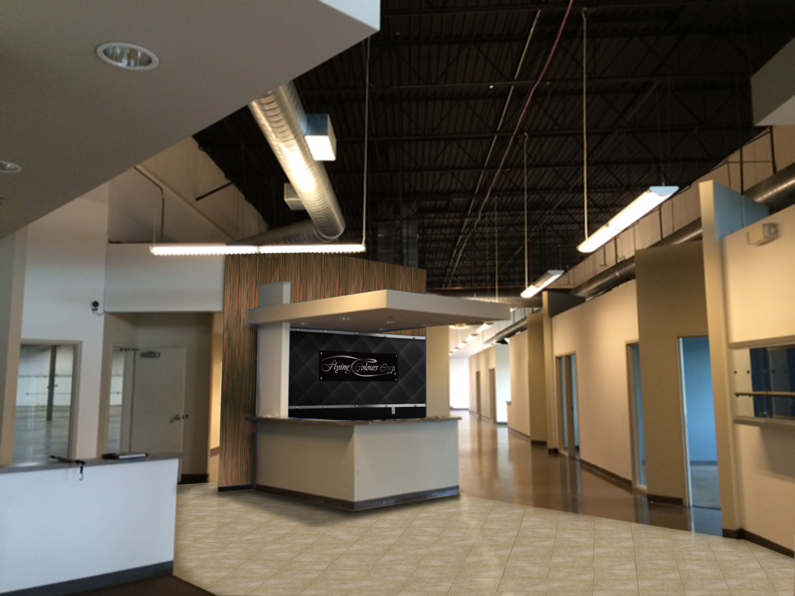 Flying Colours Corp. begins the first phase of the St. Louis facility expansion.