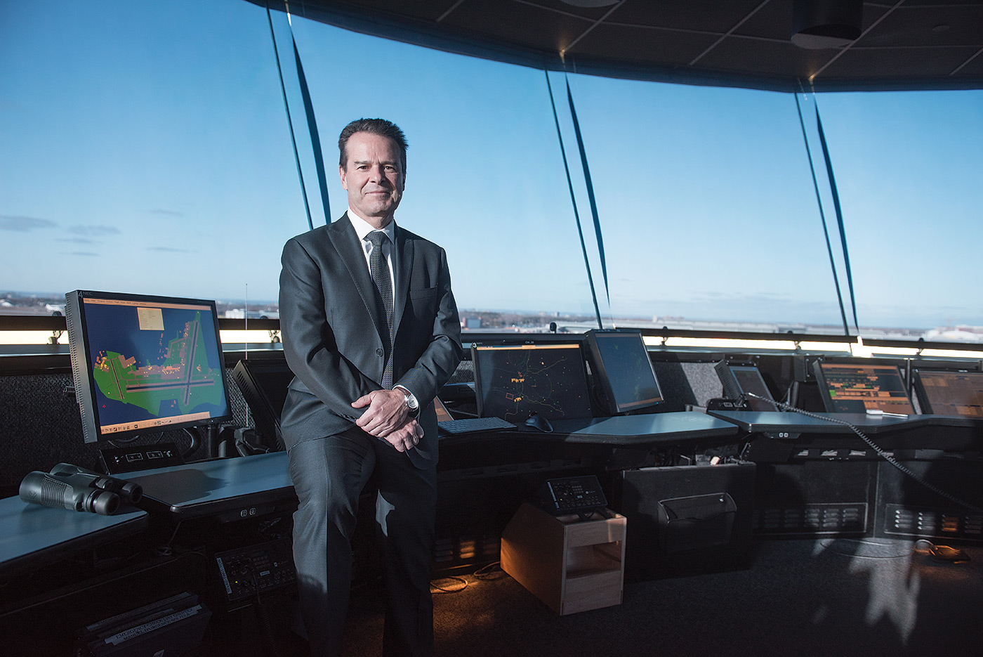 Niel Wilson, Nav Canada president and CEO, said the transformation from a government-run air navigation service provider to a privately operated model presented some significant challenges. Photo courtesy of Nav Canada