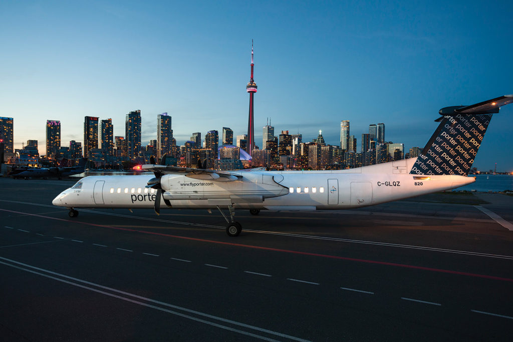Toronto-based Porter Airlines has been proactive about cementing relationships with flight colleges and other pilot training schools. President and CEO Bob Deluce said these connections are starting to pay off by delivering new employees. Porter Airlines Photo