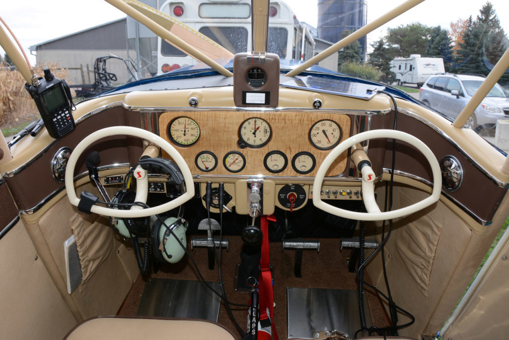 The beautifully restored cockpit of CF-BST. Eric Dumigan Photo