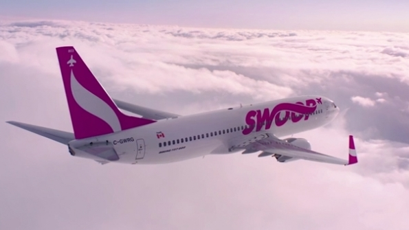 Swoop is WestJet's new ultra-low-cost carrier--expected to begin flying in June 2018. WestJet Photo