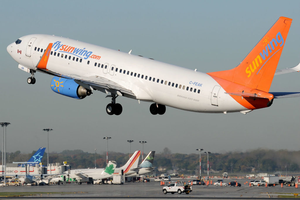Sunwing also took action to quickly mount extra flights to evacuate passengers from hurricane danger zones.