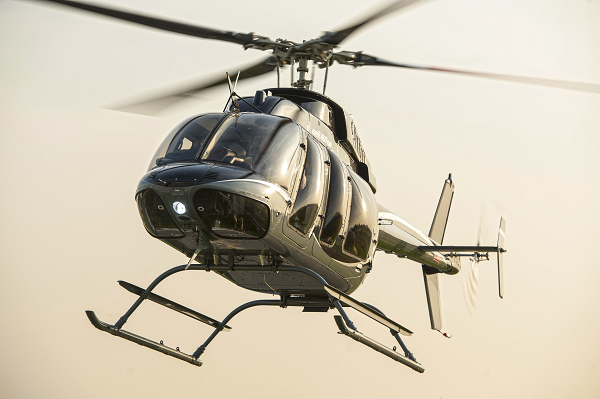 The customer chose the Bell 407GXP as they required the integrated avionics and technology capabilities that this aircraft offers. Bell Helicopter Photo