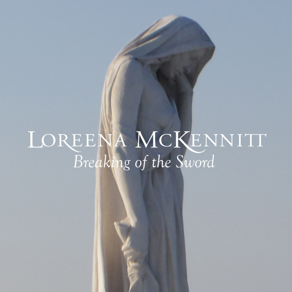 The cover artwork for Honorary Colonel Loreena McKinnett's new single,