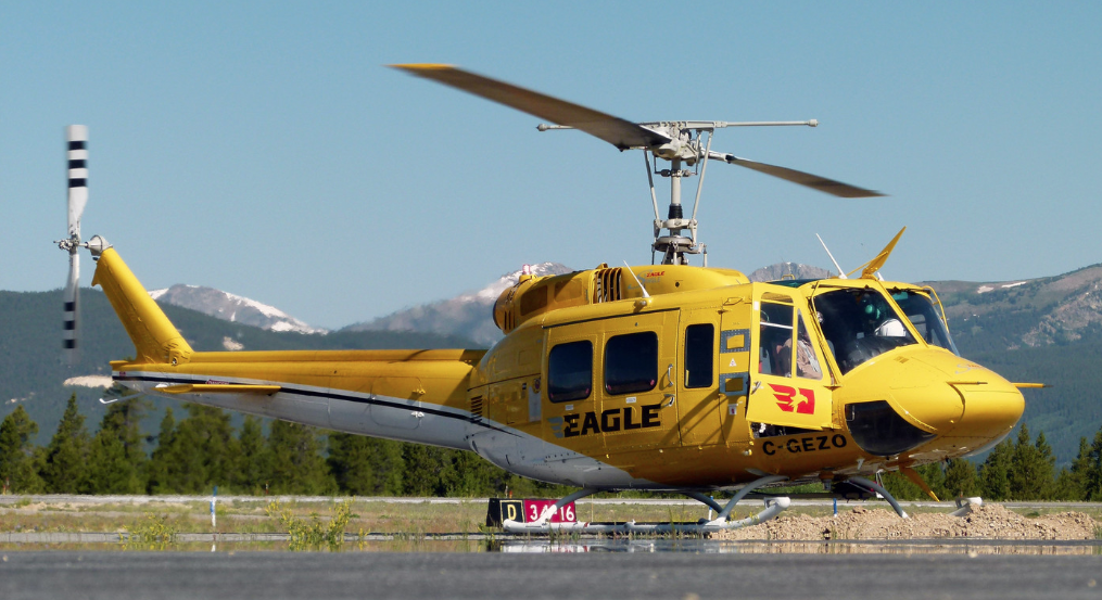 The new Eagle Copters website has a section for its newly launched Eagle Fleet Management Program, which is designed to moderate and lower the annual operating costs for users of Legacy Bell medium helicopters, including the 212 (pictured here). Eagle Copters Photo