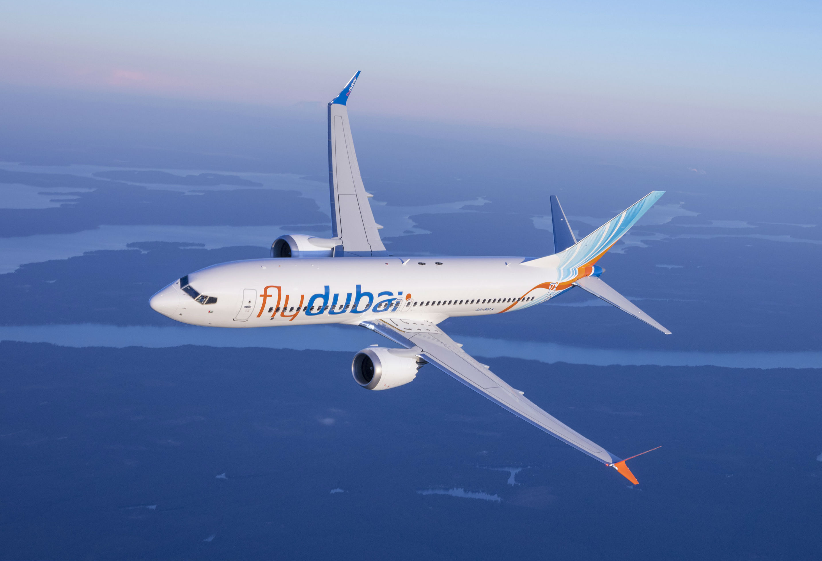 More than 50 of the first 175 airplanes will be 737 MAX 10s, and another portion of the order will be made up of the popular MAX 8 and MAX 9 aircraft. Flydubai Photo