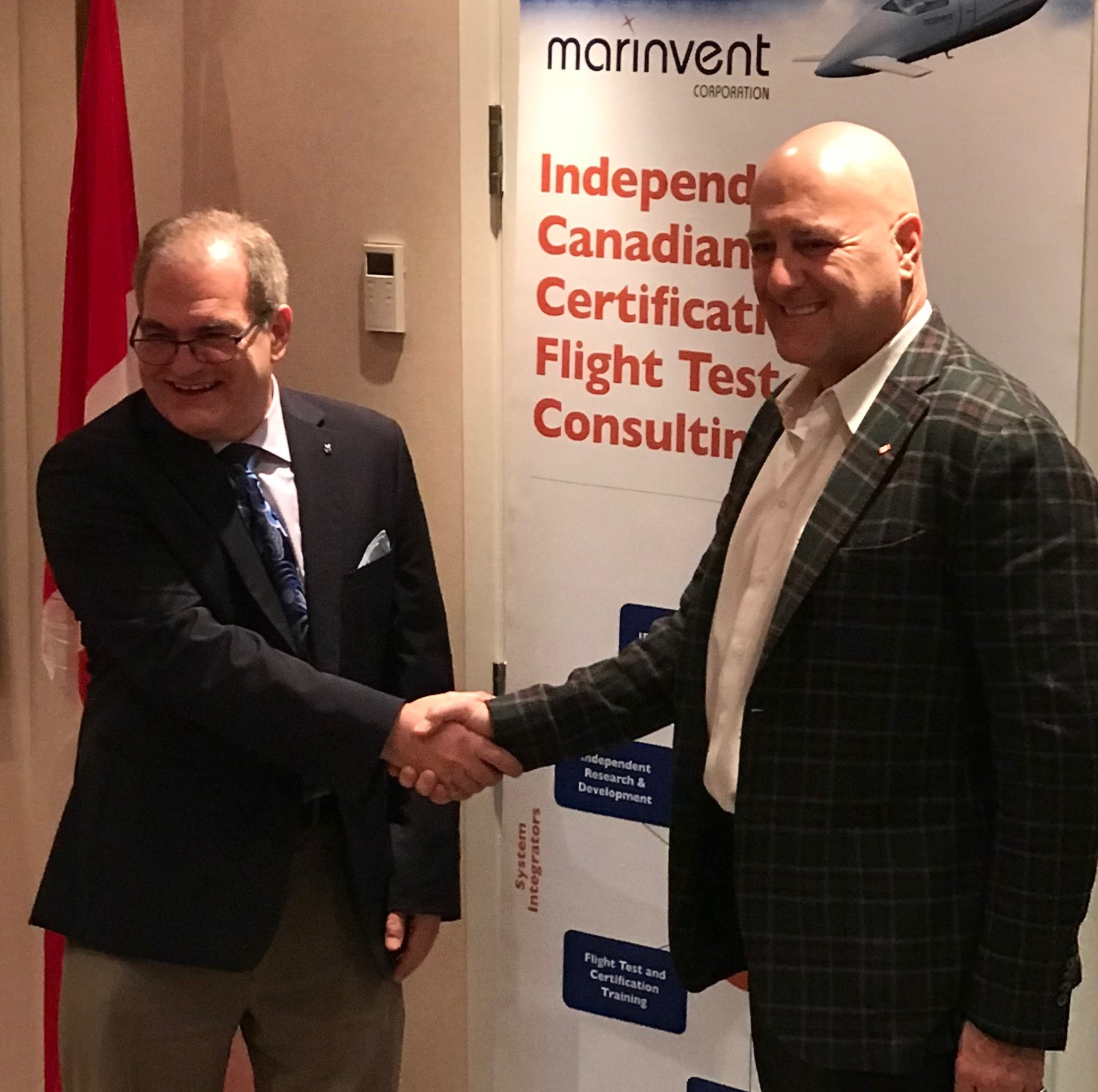 As a result of this contract award, the Government of Canada is Marinvent's launch customer for this award winning technology. Marinvent Photo