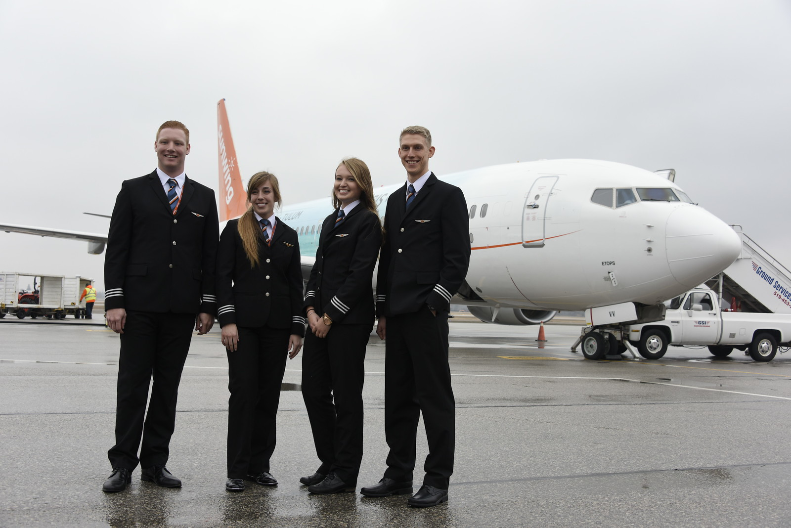 ATAC plans to inform young people about careers in aviation with increased brand awareness through its FlyCanada web page. Mike Reyno Photo