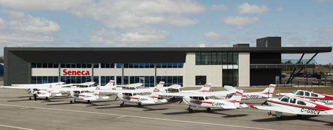 Seneca College's Peterborough Airport aviation campus. Seneca Photo