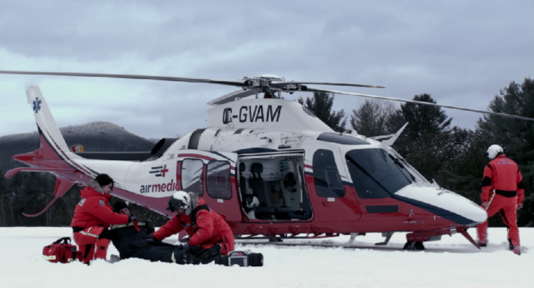 Airmedic's purchase of three new fully equipped EC145e helicopters from Airbus will bring its total number of emergency medical aircraft to nine. Airmedic Photo