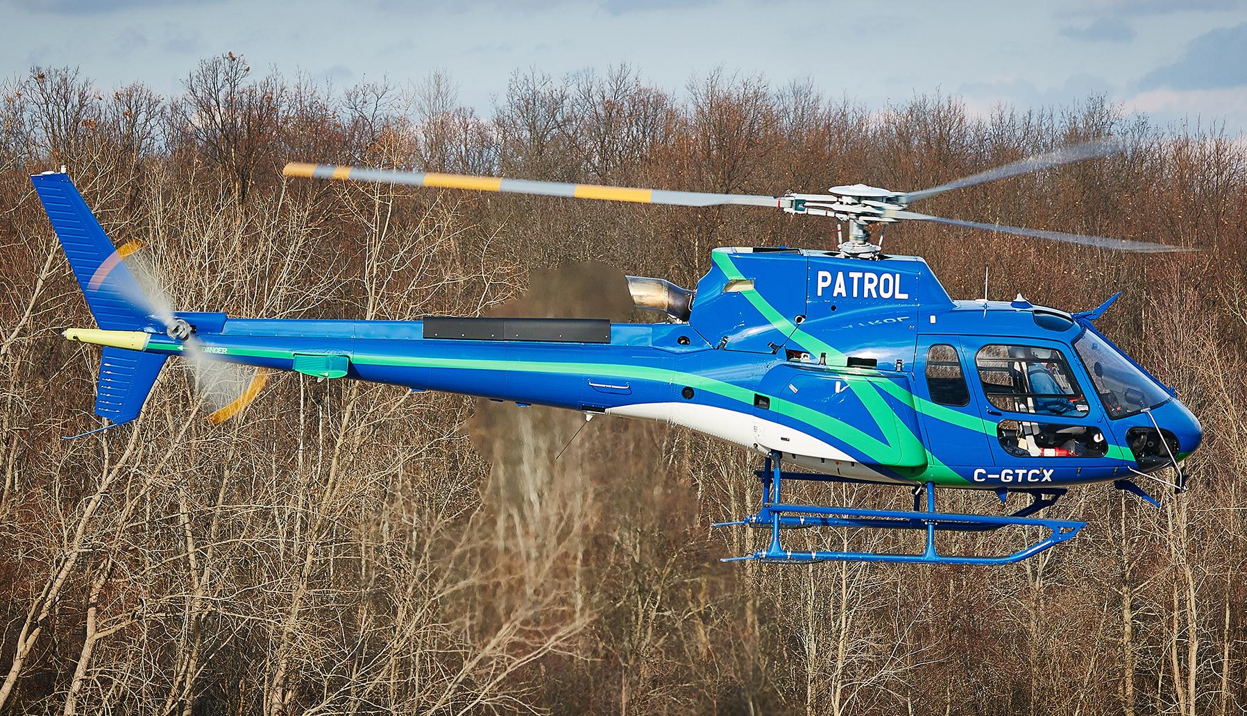 H125 in flight