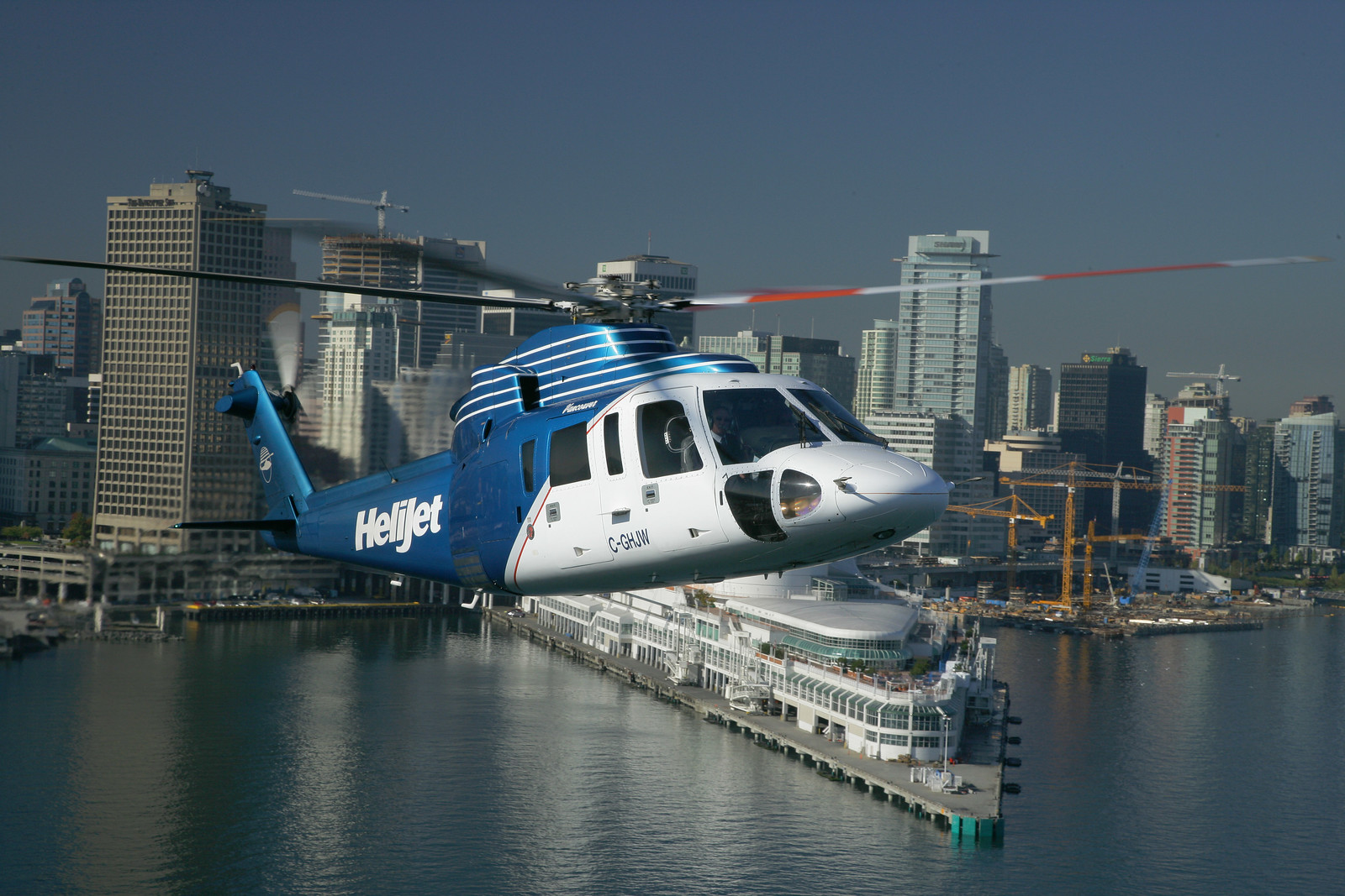 Helijet is replacing its older S-76 models with newer model S-76C++ helicopters. Heath Moffatt Photo