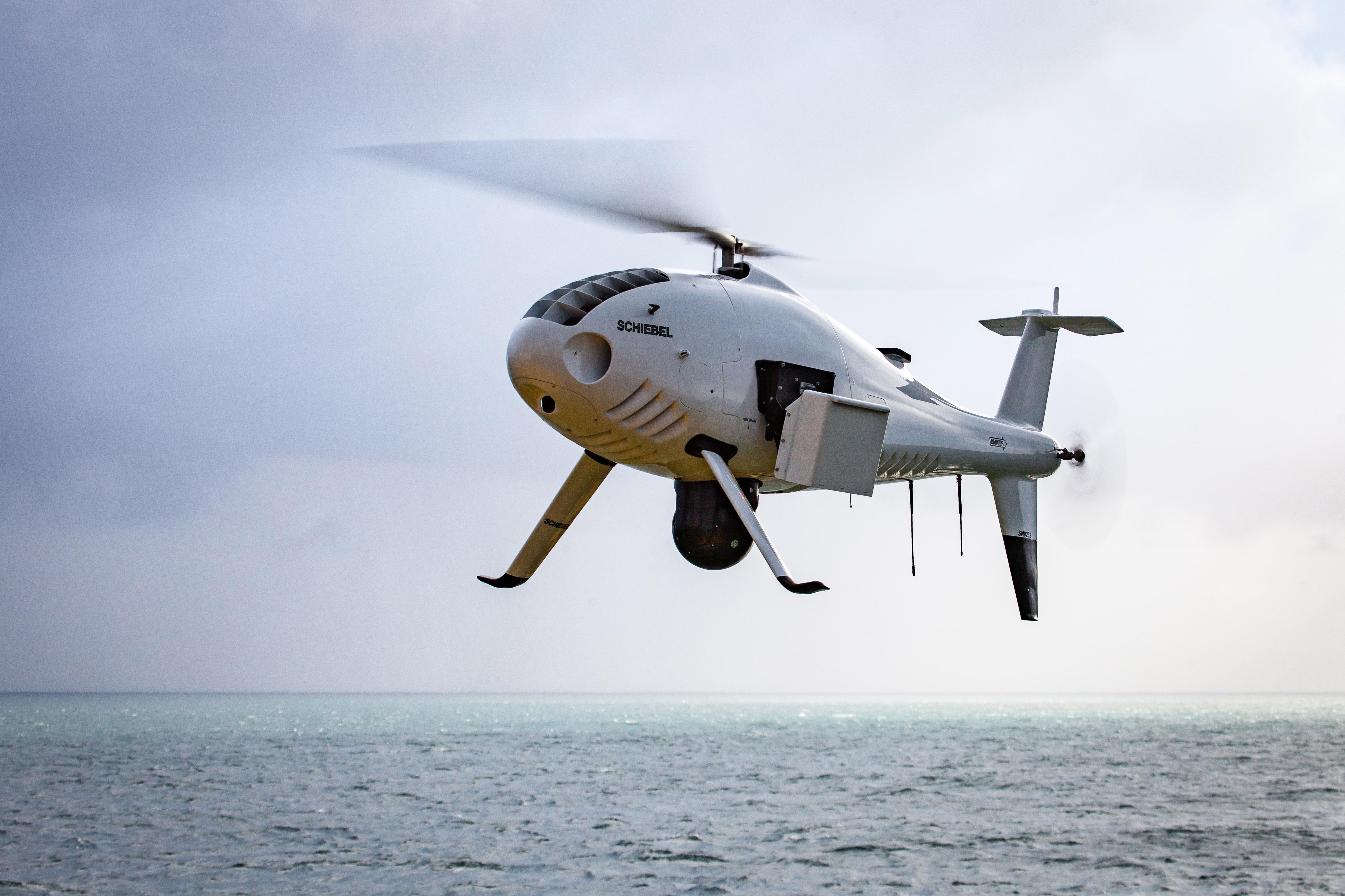 S-100 in flight