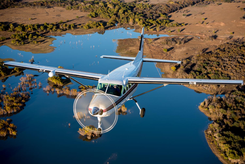 Cessna Caravan in flight