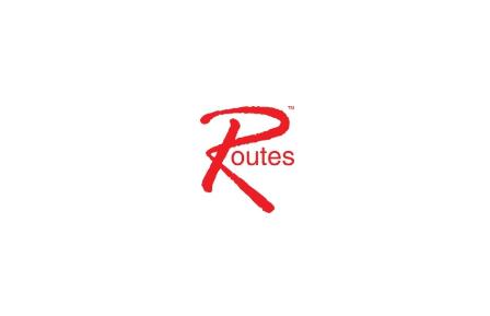 Routes America logo