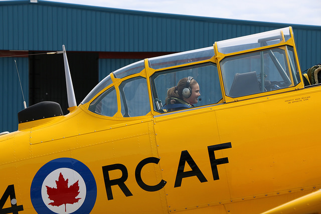 The Royal Canadian Air Force typically makes an appearance at the event, and this year, it has confirmed it will be bringing a glider and towplane--weather dependent. Girls Take Flight 2017 Photo
