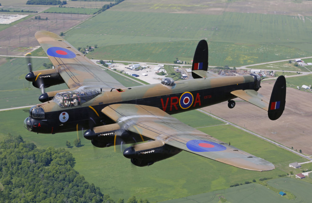 lancaster vr aaffectionately known as verawill be on display for one day only at cbaa 2018 weather permitting canadian warplane heritage museum photo