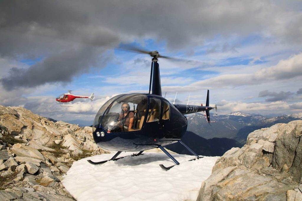 Training with the Cabri G2: BC Helicopters - Skies Mag