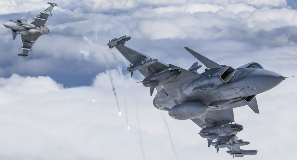 Saab positions Gripen E as Canada's next-generation fighter