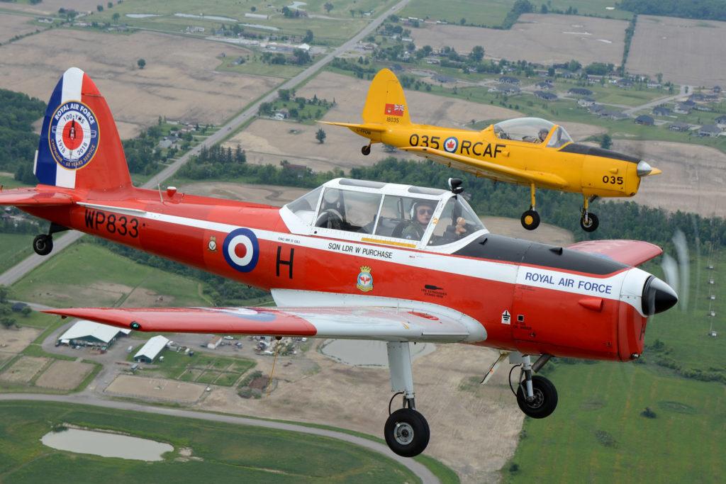 Canadian Warplane Heritage Museum welcomes former RAF