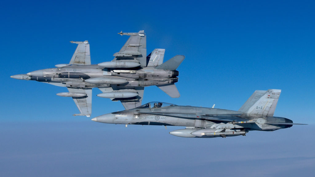 Canada's CF-188 Hornet fighters will be participating in this year's Exercise Maple Flag. Mike Reyno Photo