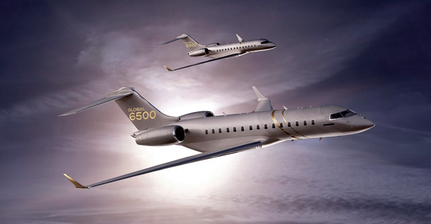Bombardier has welcomed the first Global 6500 into its completion centre in Montreal, moving the aircraft closer to entry-to-service. Bombardier Photo