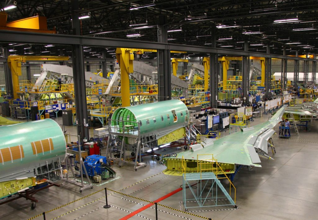 With Canada being ranked fifth among global aerospace markets, the industry and government must create a long-term plan to guide investments in order to maintain the country's position in the market. MHI Photo