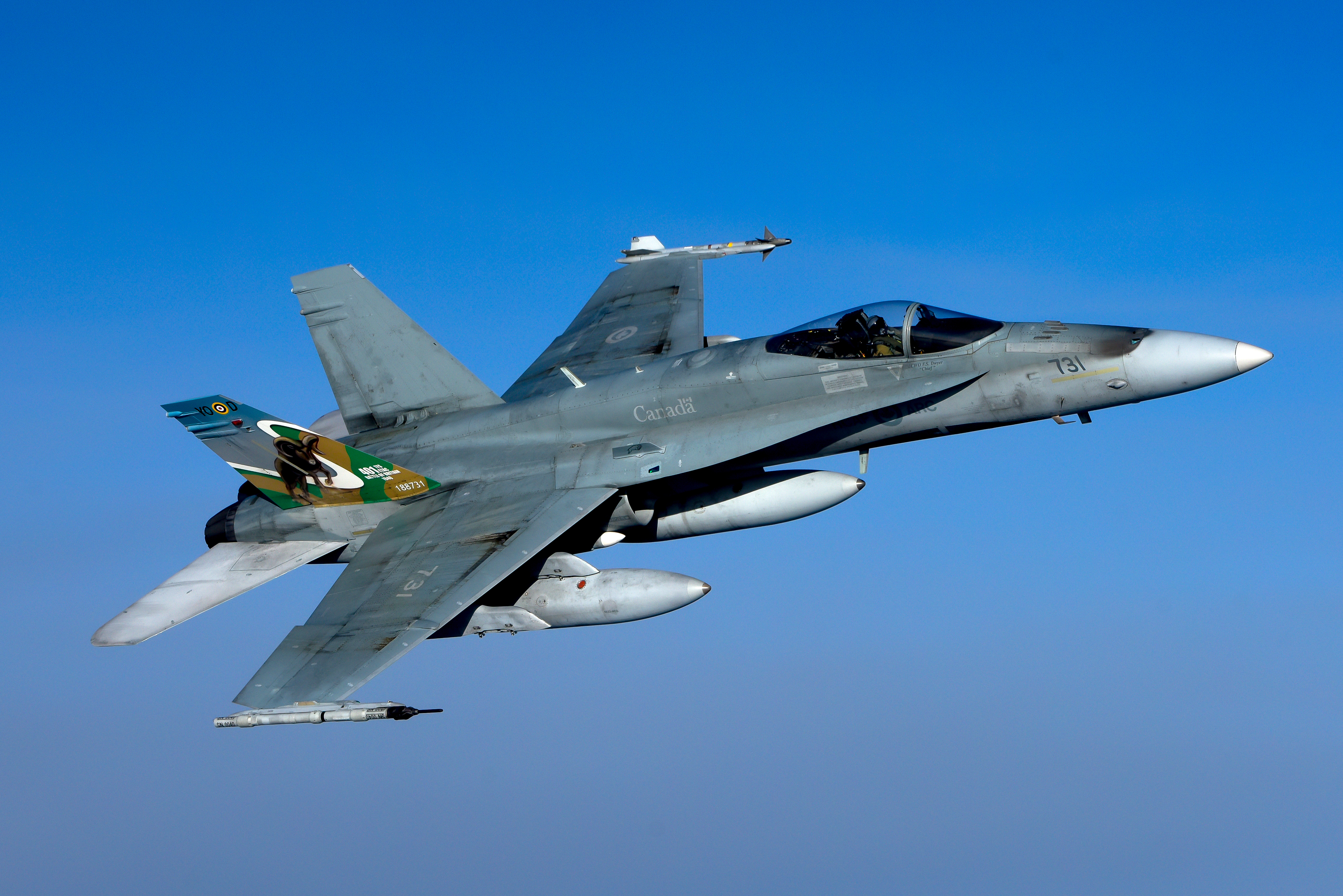 the RCAF has admitted it has less than two-thirds the number of CF-188 pilots needed to meet the government's requirements