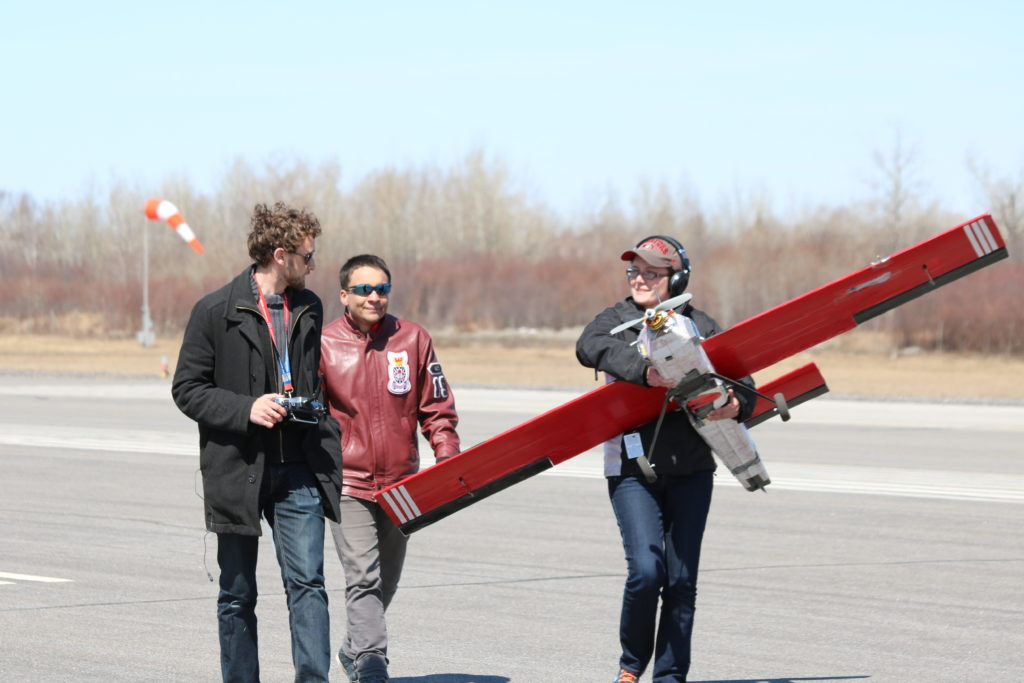 Many UAS competitors have already been hired by a company that is sponsoring the competition. Unmanned Systems Canada Photo