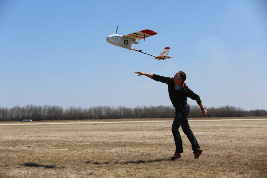The competition is designed for both fixed- and rotary-wing UAS. Umanned Systems Canada Photo