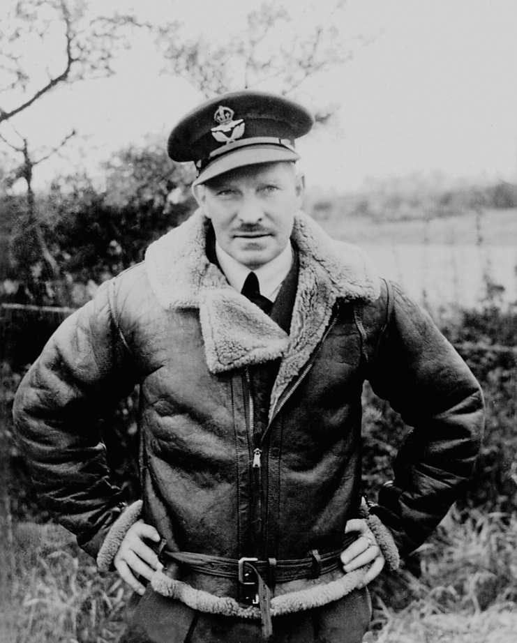 On Nov. 1, 1939, Squadron Leader Ernst McNab took command of No. 1 Sqn and was instrumental in guiding the squadron through its growing pains and baptism by fire. DND Photo