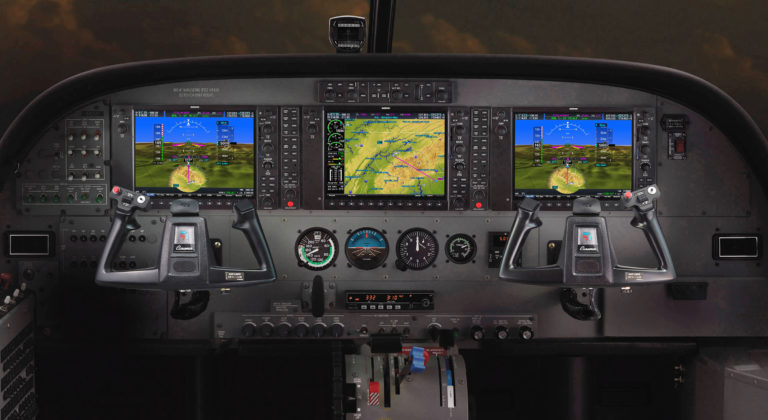 The new flight deck features will be available on all 2019 Cessna Caravan and Grand Caravan EX turboprops.
