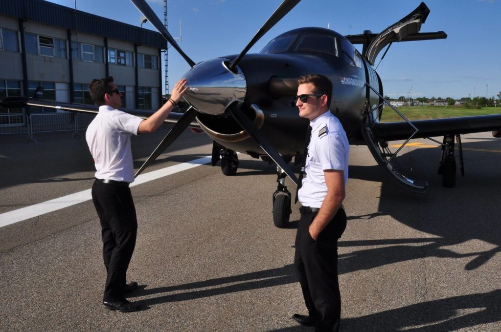 The Canadian Business Aviation Association will investigate the creation of a Fatigue Risk Management System framework that could be adopted by all its members as needed. Chrono Aviation Photo