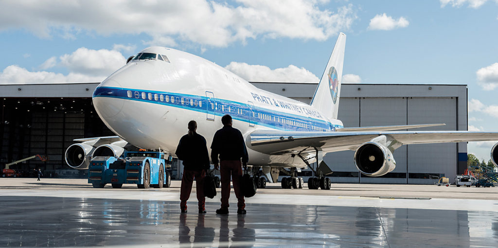 Both of P&WC's 747SP aircraft are certified as