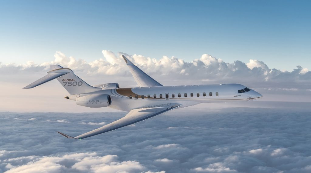 Bombardier will acquire the Global 7500 wing program from Triumph Group in Red Oak, Texas. Bombardier Photo