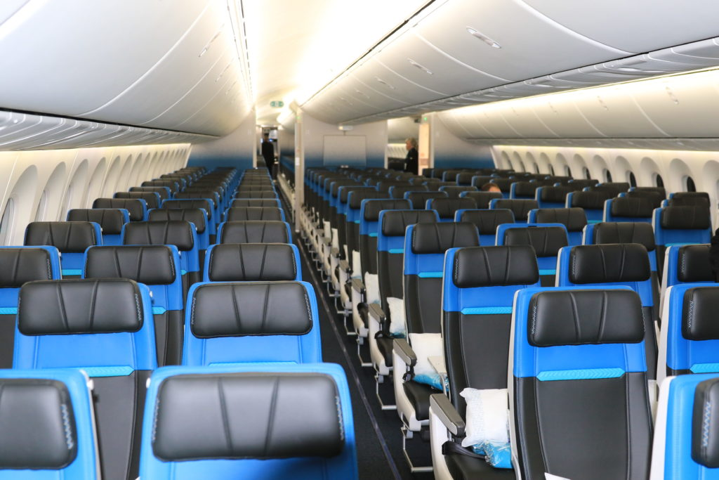 Middle seats will soon be sold on Air Canada and WestJet flights. Gary Watson Photo