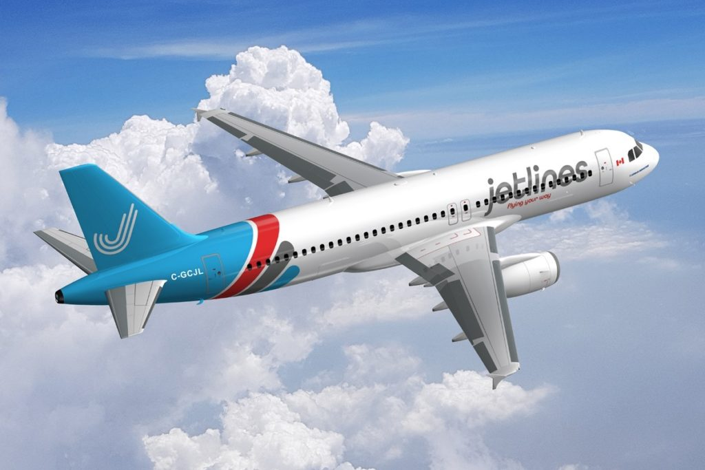 Canada Jetlines has recently reached an agreement with SmartLynx airlines to lease two Airbus A320s. Canada Jetlines Photo