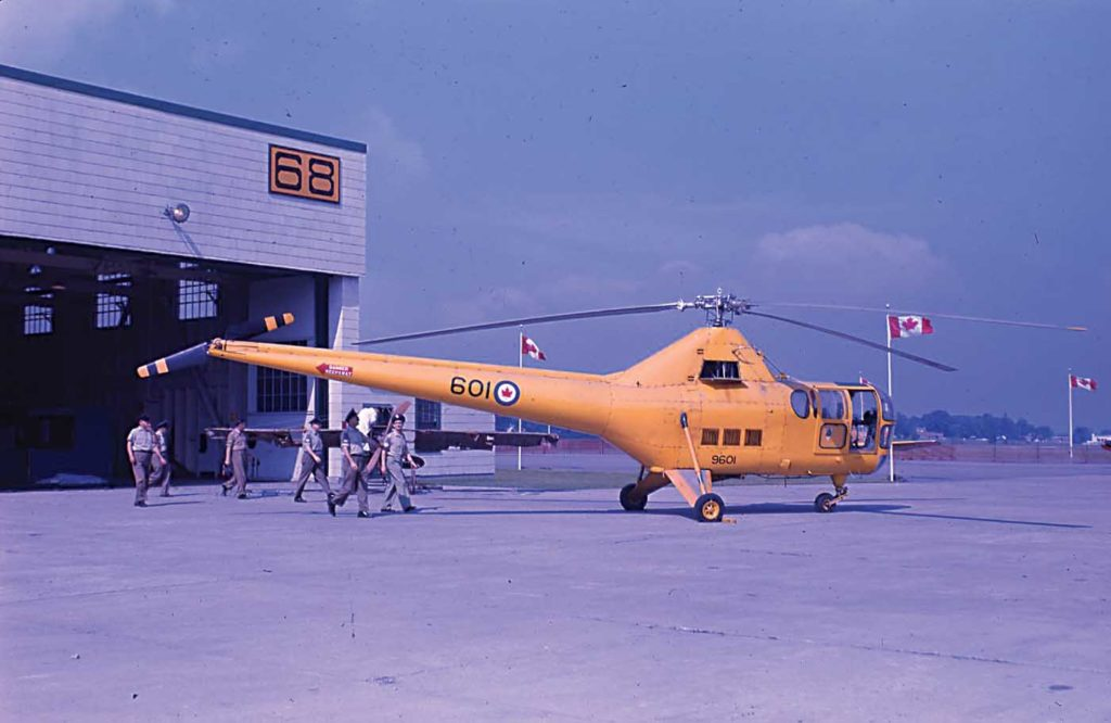 The last S-51 to fly operationally with the RCAF was #9601. Here it is at RCAF Station Rockcliffe near Ottawa, Ont., in the mid-1960s. Ken Molson Photo