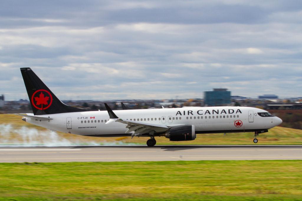 Air Canada MAX 8