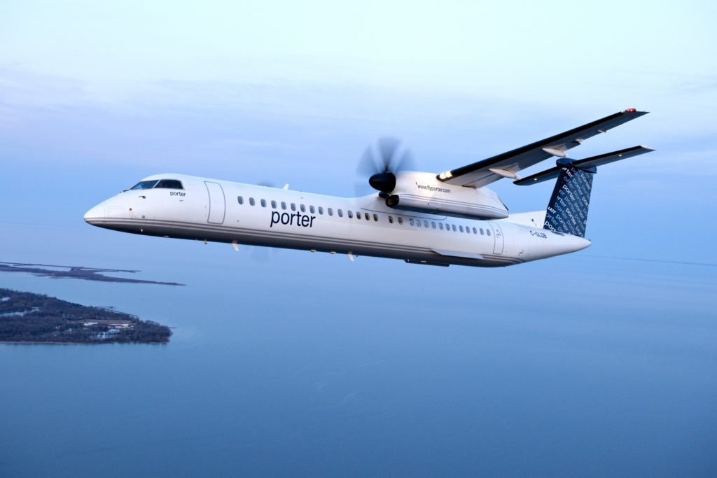 Porter Airlines began trials at their YQT and YSB maintenance bases in January of 2019, transitioned all remaining maintenance bases on July 16, and is now completely paperless. Porter Photo