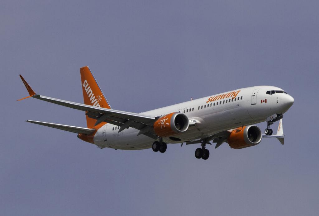 Sunwing 737 MAX 8