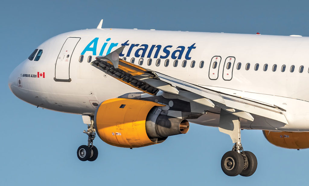 Air Transat has announced new destinations for their winter 2019-2020 program including Madrid and Malaga, Spain out of Montreal. John Chung Photo