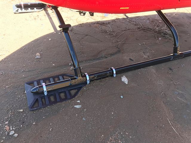 All new Bear Paw Kits delivered will be directly compatible with both standard and high skid gear, making it easy for procurement and potential seasonal changes between gear. Alpine Aerotech Photo